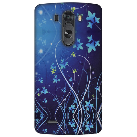 Midnight Lily Slim Hard Shell Case For LG G4