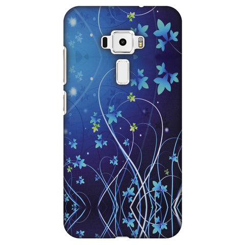 Midnight Lily Slim Hard Shell Case For Asus Zenfone 3 ZE520KL