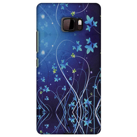 Midnight Lily Slim Hard Shell Case For HTC U Ultra