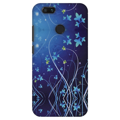 Midnight Lily Slim Hard Shell Case For Xiaomi MI A1-5X