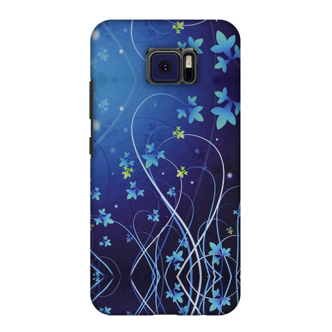 Midnight Lily Slim Hard Shell Case For Asus ZenFone V V520KL
