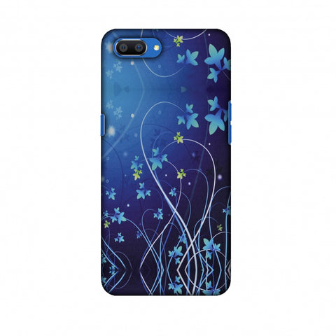 Midnight Lily Slim Hard Shell Case For Oppo Realme C1
