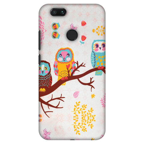 Owls On Branch Slim Hard Shell Case For Xiaomi MI A1-5X