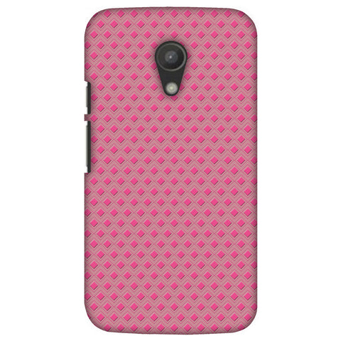Retro Daimond Slim Hard Shell Case For Motorola Moto G 2 Gen