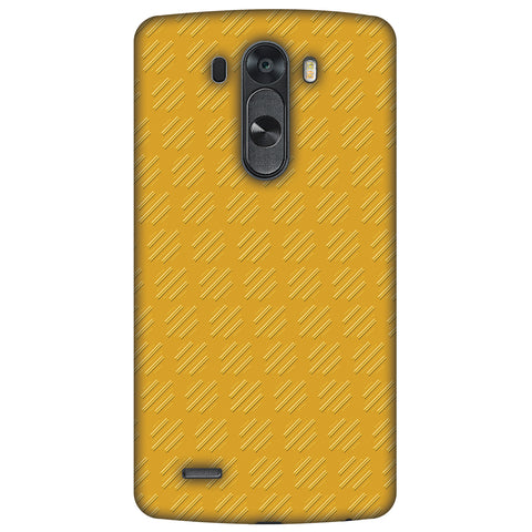 Retro Lines Shape Slim Hard Shell Case For LG G4