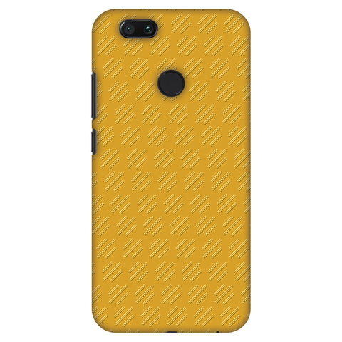 Retro Lines Shape Slim Hard Shell Case For Xiaomi MI A1-5X