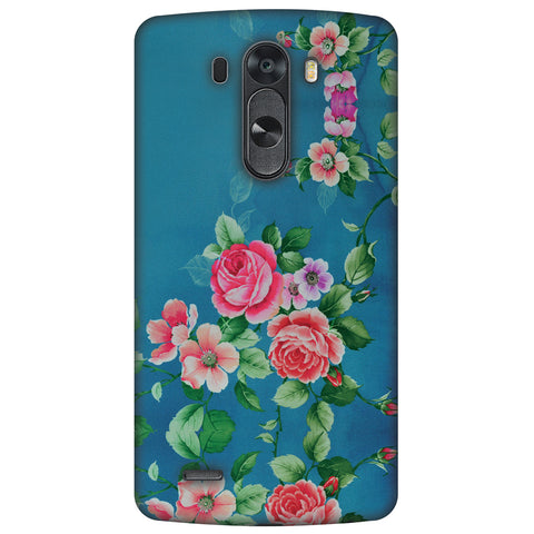 Rose Print Provencal Slim Hard Shell Case For LG G4
