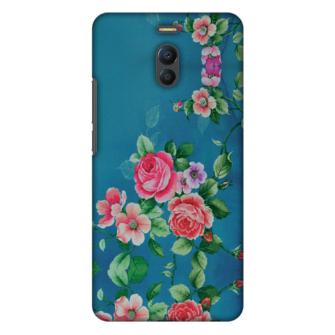 Rose Print Provencal Slim Hard Shell Case For Meizu Note 6