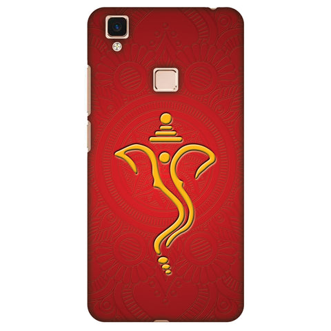 Shri Ganesh Vakratunda Mahakaya Slim Hard Shell Case For Vivo V3 Max
