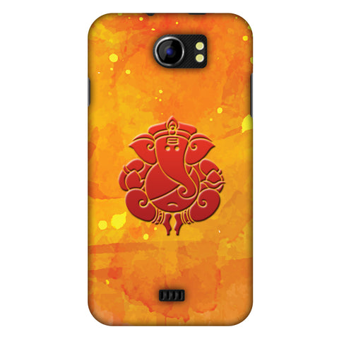 Shri Ganesh Mangalmurti Morya Slim Hard Shell Case For Micromax Canvas 2 A110