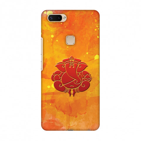 Shri Ganesh Mangalmurti Morya Slim Hard Shell Case For Vivo X20 Plus