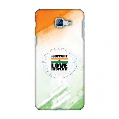 I Support Love India Slim Hard Shell Case For Samsung Galaxy A8 2016