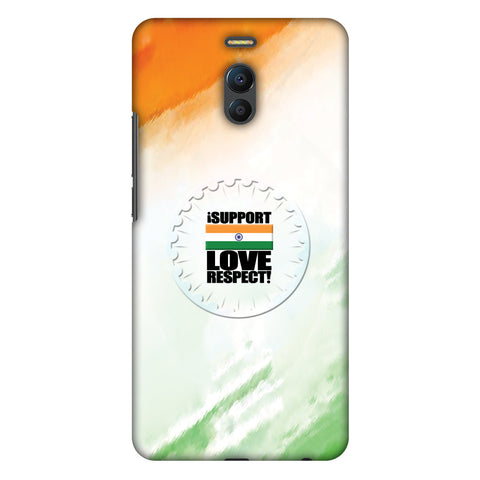 I Support Love India Slim Hard Shell Case For Meizu Note 6