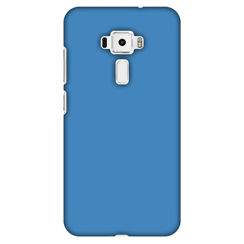 Olympic Blue Slim Hard Shell Case For Asus Zenfone 3 ZE520KL
