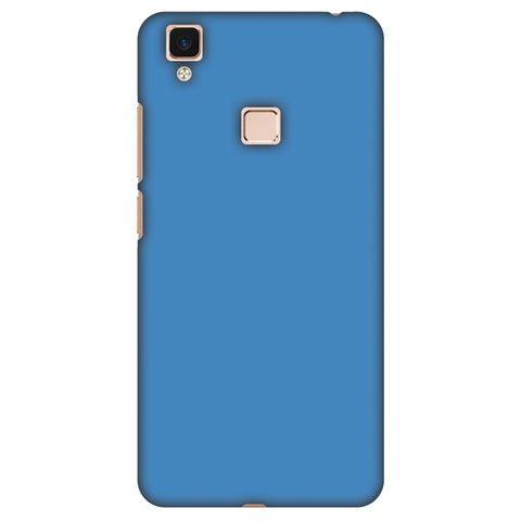 Olympic Blue Slim Hard Shell Case For Vivo V3 Max