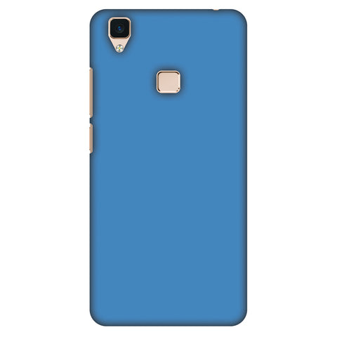 Olympic Blue Slim Hard Shell Case For Vivo V3