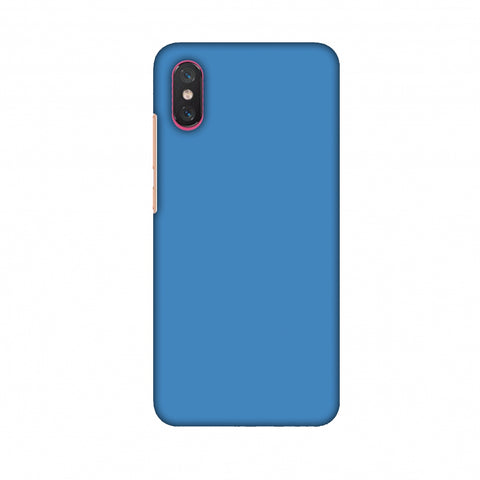 Olympic Blue Slim Hard Shell Case For Xiaomi Mi 8 Pro