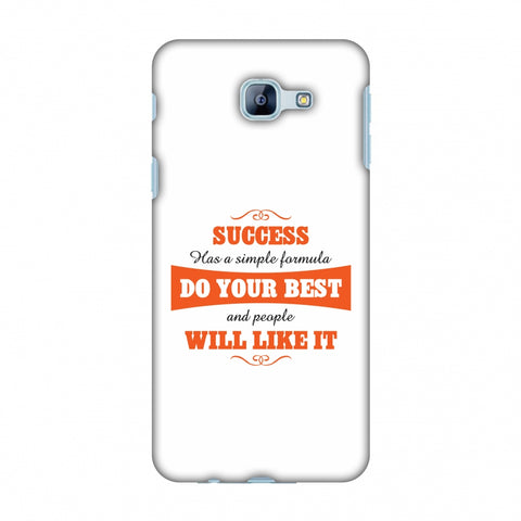 Success Do Your Best Slim Hard Shell Case For Samsung Galaxy A8 2016