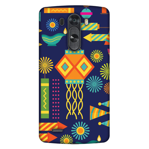 Diwali Galore Slim Hard Shell Case For LG G4