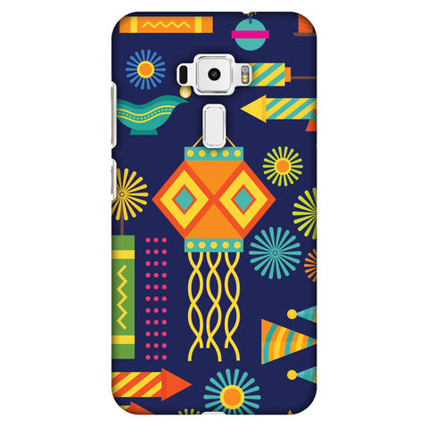 Diwali Galore Slim Hard Shell Case For Asus Zenfone 3 ZE520KL