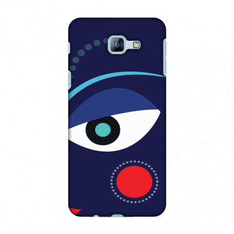 Divinegoddess - Blue Slim Hard Shell Case For Samsung Galaxy A8 2016
