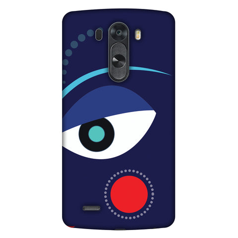 Divinegoddess - Blue Slim Hard Shell Case For LG G4