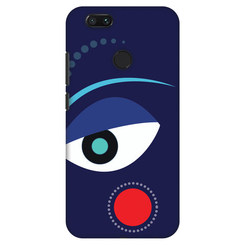 Divinegoddess - Blue Slim Hard Shell Case For Xiaomi MI A1-5X