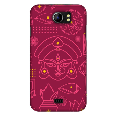 Divinegoddess - Red Slim Hard Shell Case For Micromax Canvas 2 A110