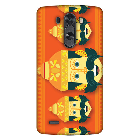 Mighty Ravana Slim Hard Shell Case For LG G4