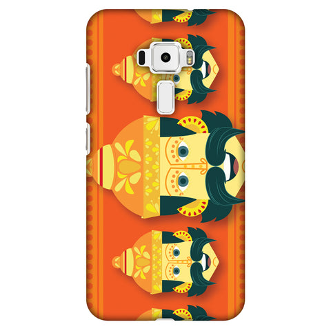 Mighty Ravana Slim Hard Shell Case For Asus Zenfone 3 ZE520KL