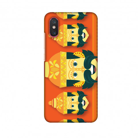 Mighty Ravana Slim Hard Shell Case For Xiaomi Mi 8 Pro