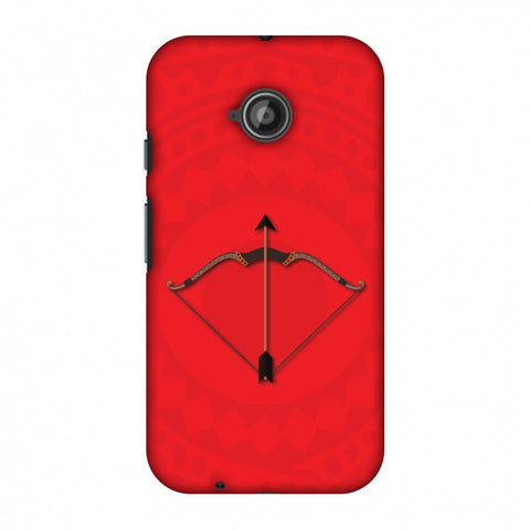 Ram's Glory Slim Hard Shell Case For Motorola Moto E 2nd Gen