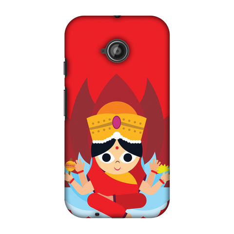 Divinegoddess Slim Hard Shell Case For Motorola Moto E 2nd Gen