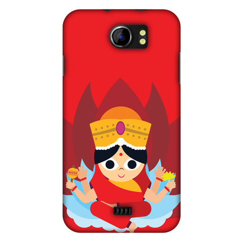 Divinegoddess Slim Hard Shell Case For Micromax Canvas 2 A110