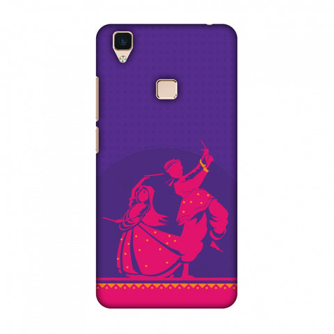 DAndiya Beats Slim Hard Shell Case For Vivo V3