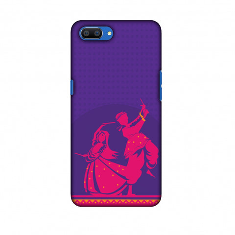 DAndiya Beats Slim Hard Shell Case For Oppo Realme C1