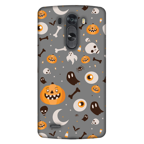 Freaky Grey Slim Hard Shell Case For LG G4