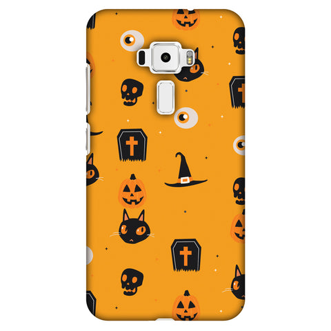 Spooky Collage Slim Hard Shell Case For Asus Zenfone 3 ZE520KL