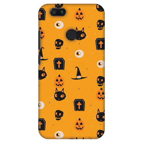 Spooky Collage Slim Hard Shell Case For Xiaomi MI A1-5X