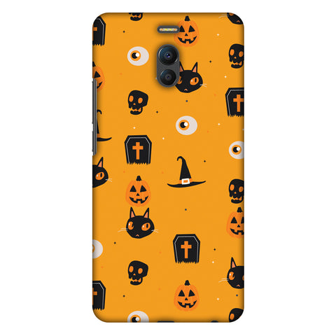 Spooky Collage Slim Hard Shell Case For Meizu Note 6