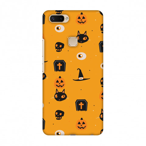Spooky Collage Slim Hard Shell Case For Vivo X20 Plus