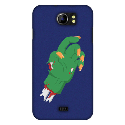 The HAnd Slim Hard Shell Case For Micromax Canvas 2 A110