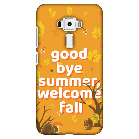 Goodbye Summer Slim Hard Shell Case For Asus Zenfone 3 ZE520KL