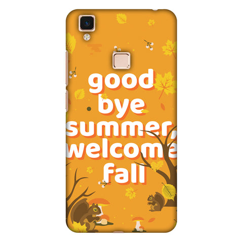 Goodbye Summer Slim Hard Shell Case For Vivo V3 Max