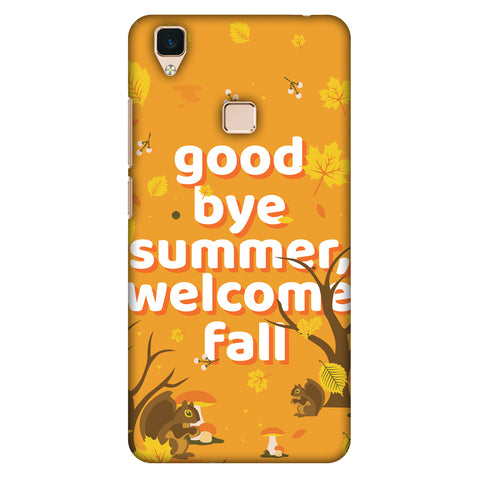 Goodbye Summer Slim Hard Shell Case For Vivo V3