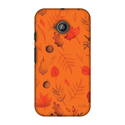 Colours Of Autumn Slim Hard Shell Case For Motorola Moto E 2nd Gen
