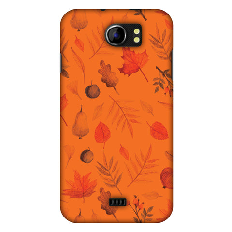 Colours Of Autumn Slim Hard Shell Case For Micromax Canvas 2 A110