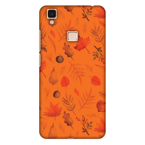 Colours Of Autumn Slim Hard Shell Case For Vivo V3 Max