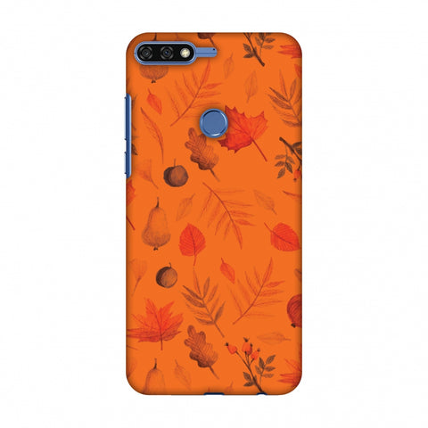 Colours Of Autumn Slim Hard Shell Case For Huawei Honor 7C