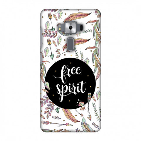 The Free Spirit Slim Hard Shell Case For Asus Zenfone 3 Deluxe ZS570KL